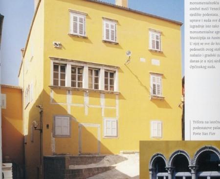 LABINSKE ZNAMENITOSTI: Podestatova palača