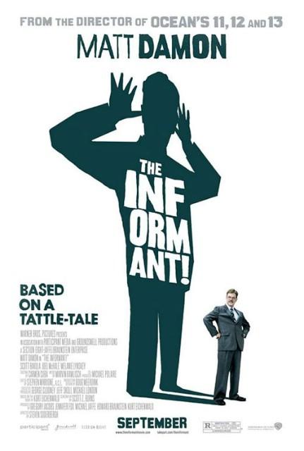 Filmoteka: The Informant! / Doušnik! (2009)