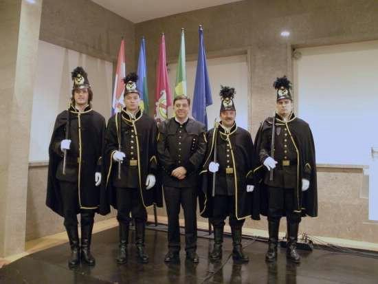Članovi Ivanečke rudarske čete na 90. obljetnici Labinske Republike