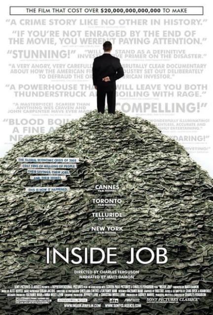 Filmoteka: Inside job / Unutarnja pljačka (2010)