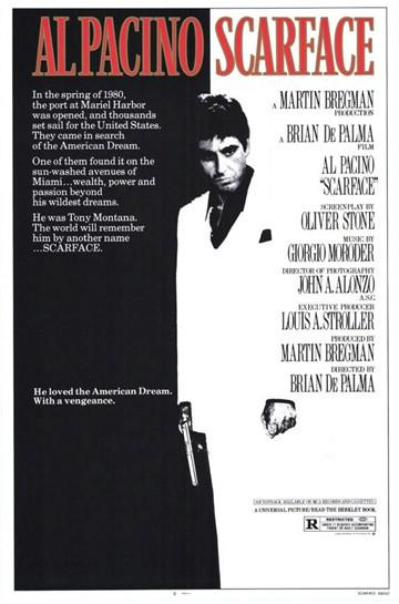 Filmoteka: Scarface / Lice s ožiljkom (1983)