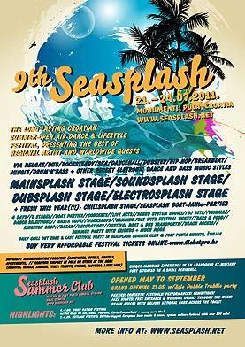 Seasplash festival, Pula