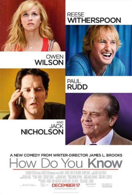 Filmoteka: How Do You Know / Kako znaš (2010)