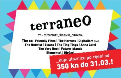 Još desetak dana za kupnju festivalskih ulaznica za Terraneo po povoljnijoj cijeni!