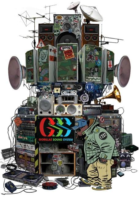 INmusic festival predstavlja audio-vizualni spektakl Gorillaz Sound System!