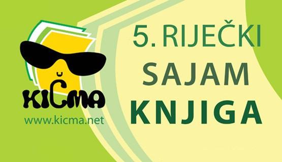 5. Riječki sajam knjiga - KIČMA (Rijeka od 19.04. 2012  do 28.04.2012)
