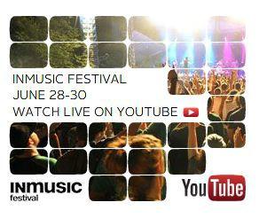 INmusic festival live na YouTube-u diljem svijeta!