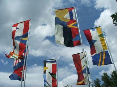 Štand Europske delegacije, Danske i Britanske ambasade na INmusic festivalu