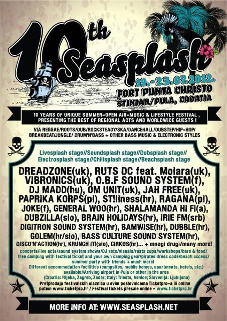10. Seasplash festival