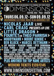 Dimensions festival 2012 (06.09.2012. - 09.09.2012.)