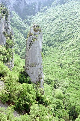 Vela Draga - Geomorfološki spomenik prirode