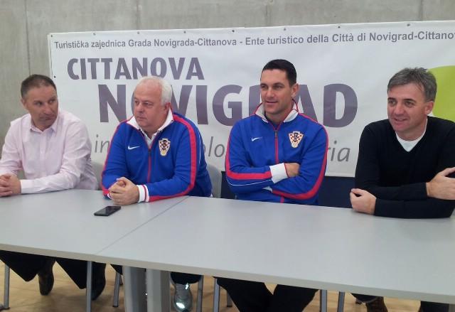 Press konferencijom najavljen sutrašnji susret futsal reprezentacija Hrvatske i BiH u Novigradu