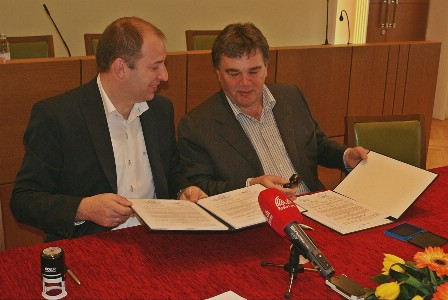 Grad Pazin i Istarska županija potpisali sporazum za otplatu kredita za izgradnju dvorane