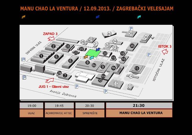 Još samo jedan dan do koncerta Manu Chao La Ventura u Zagrebu - upute i informacije