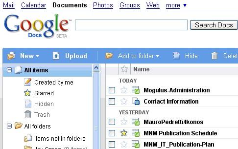 Google Docs uskoro i offline