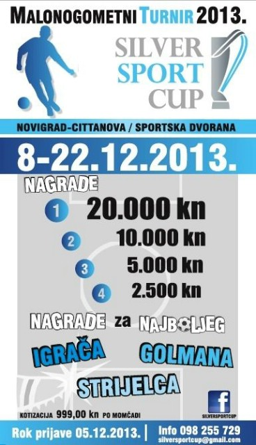 3. Silver sport cup - Počinje lov na 20.000 kuna!
