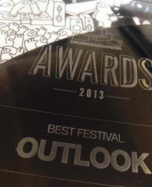 Outlook festival nagrađen za najbolji festival 2013. na DnB Arena Awards