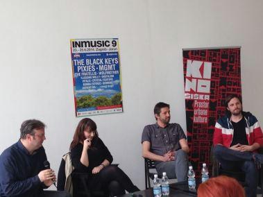 "INmusic festival u suradnji s Kino Šiška i glazbenom platformom ""MENT"""