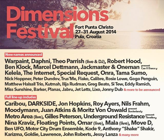 Dimensions festival najavio nove izvođače!