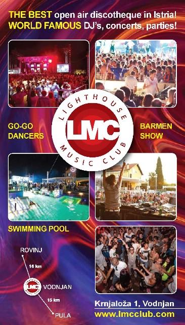 Lighthouse music club: Sezona vrhunskog provoda u Istri ove godine započinje u subotu, 14.lipnja