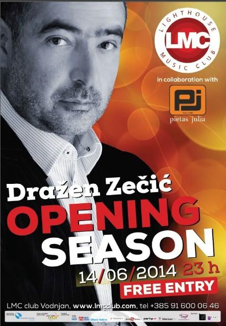 Otvorenje LMC-a 14. lipnja 2014. uz besplatan koncert  Dražena Zečića