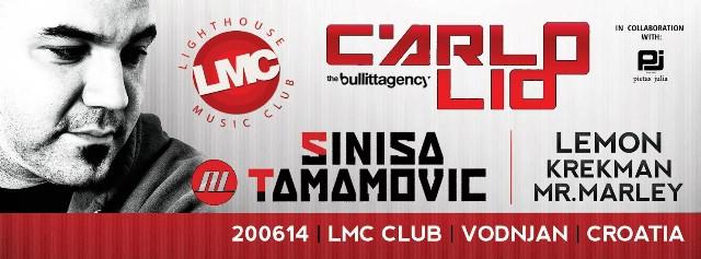 Carlo Lio & Siniša Tamamović @ LMC club 20. 06. 2014.