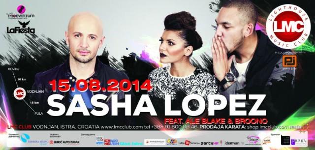 Sasha Lopez 15. 08. 2014. @ LMC club Vodnjan