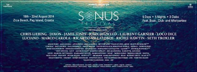 Sonus Festival 2014: Ograničen broj dnevnih ulaznica za Sonus festival pušten u prodaju!