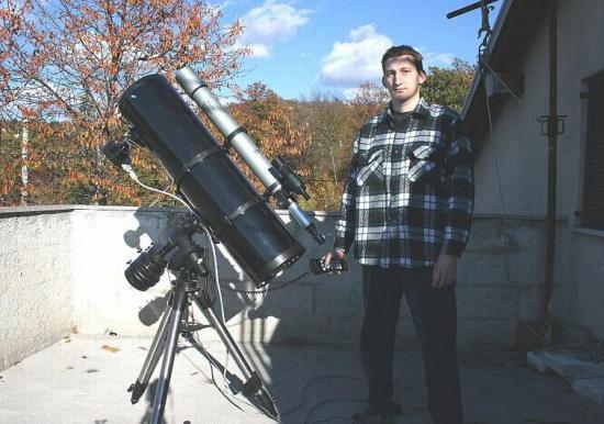 Astronom iz Istre otkrio novu promijenjivu zvijezdu