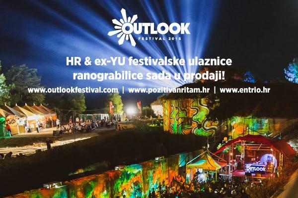 Krenula je prodaja povoljnijih ulaznica za Hrvatsku i regiju za Outlook festival 2015.!