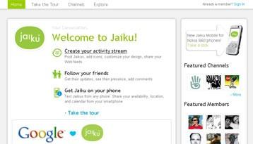 Google kupio mikroblog servis Jaiku