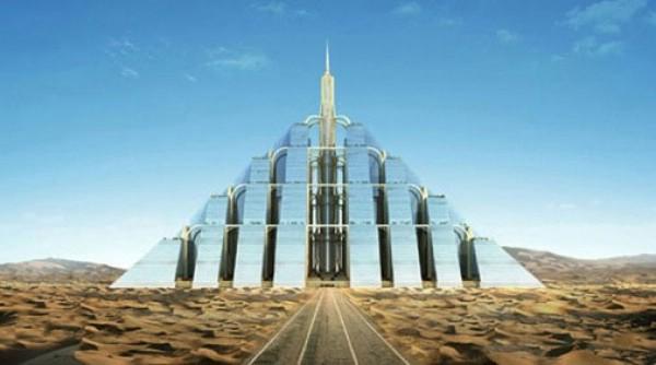 U Dubaiju planiraju izgradnju samoodržive piramide za milijun ljudi
