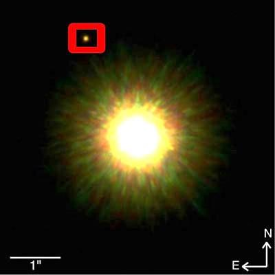 Prva izravna snimka ekstrasolarnog planeta