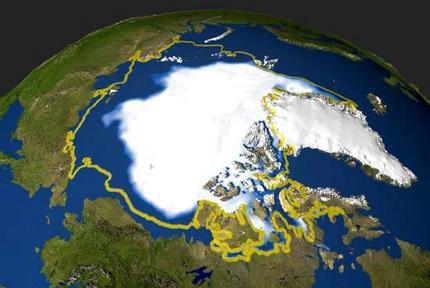 """Nova uzbuna na Arktiku: Ispod ledenog pokrivača se krije """"metanska bomba"""""""