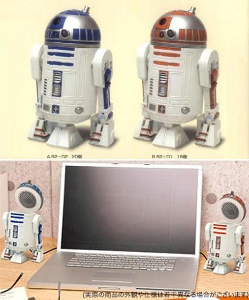 "R2-D2 zvučnici - ""uber cool"""