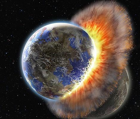 Dokazi o sudaru dvaju planeta u sazvježđu Ovna