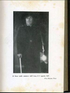 IZ LABINSKE POVIJESNE ŠKRINJICE: Mussolini u rudniku Raša