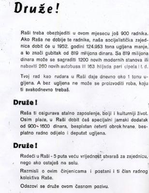 POVJESNE ISKRICE LABINŠĆINE: Druže spasi Rašu!
