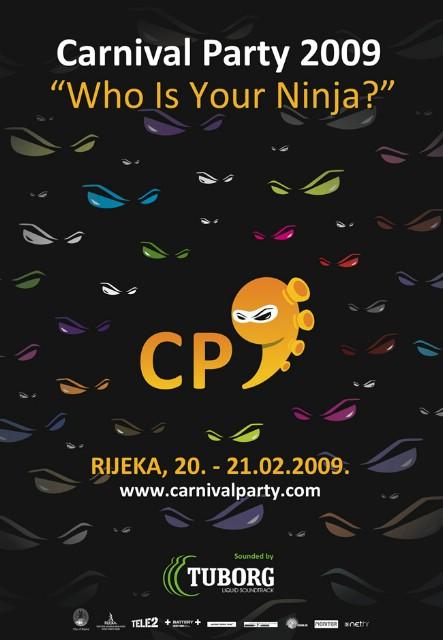 Prva večer Carnival partyja!