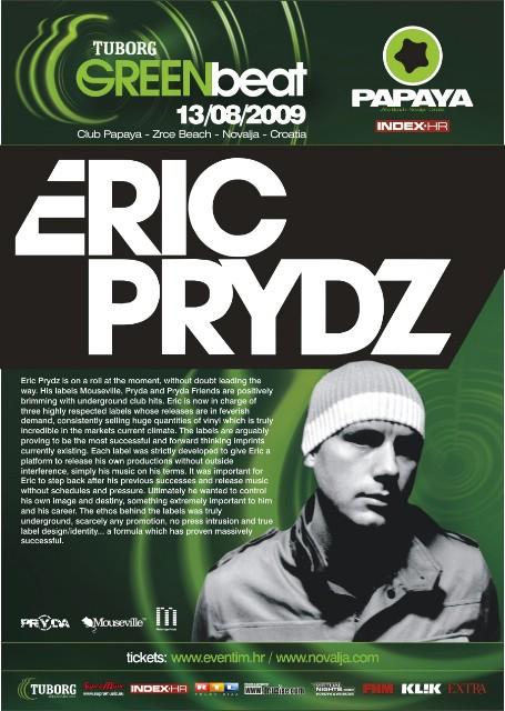 Eric Prydz na Tuborg Green Beat Festivalu!
