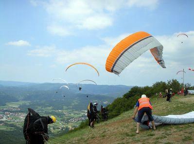 Svjetski Paragliding kup - Buzet Raspadalica 2009