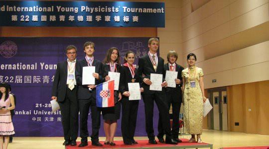 Na međunarodnom turniru fiozičara u Kini hrvatski srednjoškolci osvojili brončanu medalju