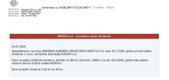 Todorićev Konzum i Ledo isplatili dividendu prije oporezivanja