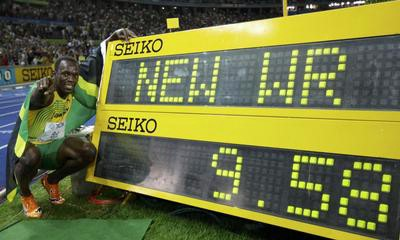 Novi svjetski rekord: Usain Bolt 9.58 na stotki!