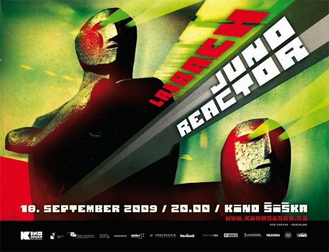 Juno Reactor & Laibach @ Kino Šiška, Ljubljana 18.09.2009.