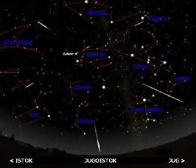 Geminidi – kreću najmarkantnije nebeske krijesnice tijekom godine