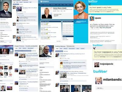 Web stranice predsjedničkih kandidata