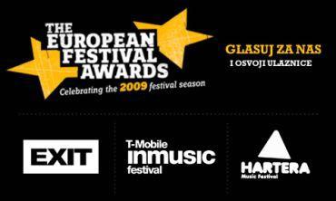 T-Mobile INmusic, Exit i Hartera prošli u drugi krug glasovanja za nagradu