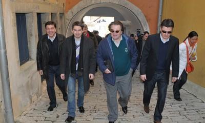 Labin: Lideri oporbe tzv. Kukuriku koalicije iza zatvorenih vrata (VIDEO)