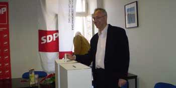 Valdi Gobo na čelu labinskog SDP-a